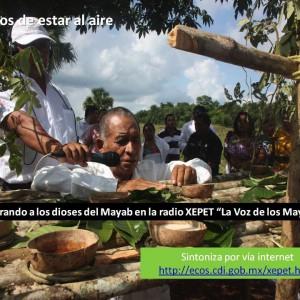 Ceremonias mayas, una forma de mostrar la riqueza de la cultura maya